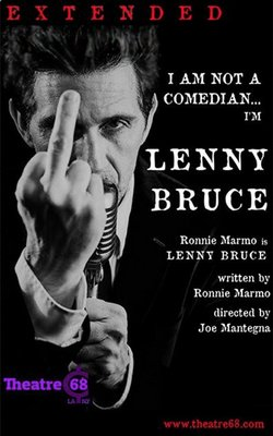Ronnie is Lenny Bruce